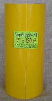 12 X 50 Yd Yellow Sign Vinyl Cutter Plotter Graphics