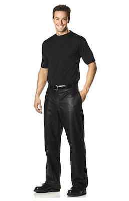 Men's Sexy Sophisticated Leather Pants - Black Goat Skin Leather for Halloween ](Sophisticated Halloween)