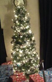 6ft narrow Christmas tree free to collector