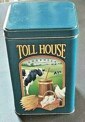 Vintage Limited Edition Nestle Toll House Cookies Morsels Tin Can