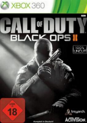 Xbox 360 Call of Duty Black Ops 2 II GuterZust.