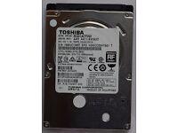 """BRAND NEW TOSHIBA 2.5"""" HARD DRIVE HDD MQ01ACF050 INTERNAL 500GB SATA 6.0Gb/s 7200RPM"""