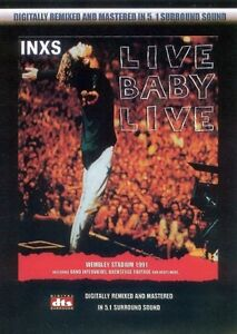 INXS - LIVE BABY LIVE (1991) New Sealed DVD