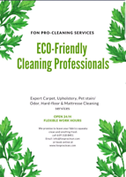 Carpet cleaning & Upholstery