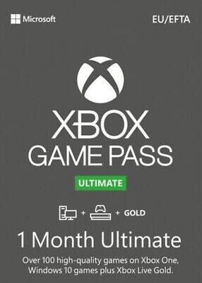 1 DAY SALE Xbox Game Pass Ultimate + Live GOLD 1 Month...