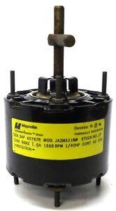 Magnetek universal electric motor 34f 65767r ja2m331n for Universal electric co motor