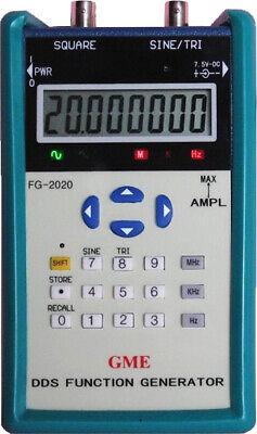 GME FG-2020 20MHz Portable DDS Function Generator 1-Yr USA Warranty