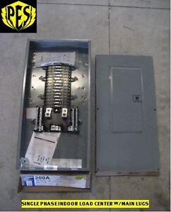 !PRICE DROP SQUARE D QO13040L200G Indoor Main Lug Load Center 200 AMP W/ Cover!!