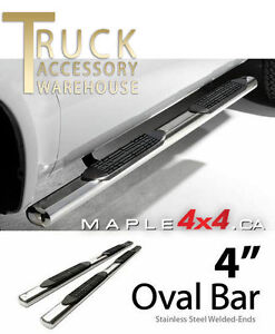 "4"" Oval  Nerf side Bars Fit 2009-2016 Dodge Ram 1500/2500/3500"