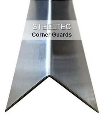 Stainless Steel Corner Guard Angles 2 X 2 X 48 - Wall Protection