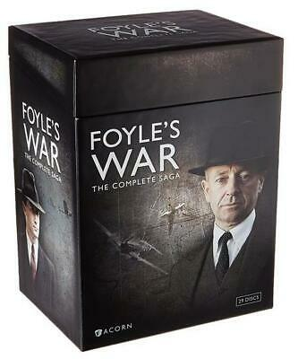 Foyle's War The Complete Saga DVD Box Set (29-Disc) Seasons 1-8 Brand New Sealed
