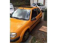 Citroen Saxo Furio 1.4 Orange