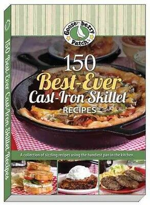 150 Best-Ever Cast Iron Skillet Recipes, Paperback by Gooseberry Patch