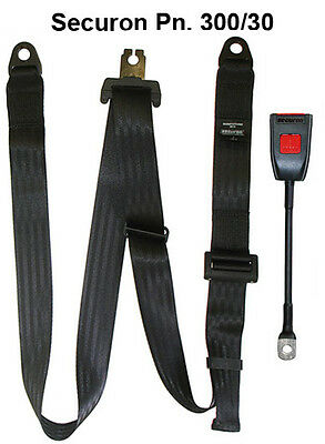 NEW Securon Seat Belt 300/30 Static Adjustable Lap & Diagonal Belt x1