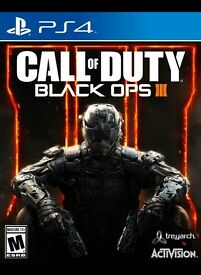 Call of duti black ops 3 on PS4