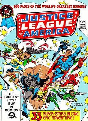 DC SPECIAL BLUE RIBBON DIGEST #11 NM! ~ Justice League of America!