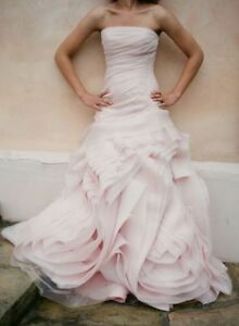 Blush Vera Wang Wedding Dress