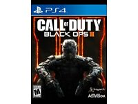 CALL OF DUTY BLACK OPS 3 - LIKE NEW - PS4