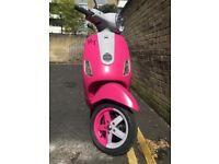 Vespa LX 50 cc Pink Matt fresh project great rider
