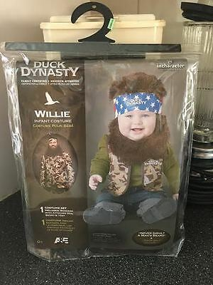 Duck Dynasty Willie Infant Toddler Complete Costume 18 - 24 Months Brand New