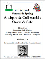 5th Annual Spring Antique and Collectible Sale