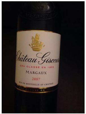 Château Giscours 2007 - Margaux - GCC