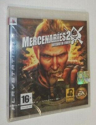 MERCENARIES 2 INFERNO DI FUOCO Play Station 3 PS3 EDIZIONE ITALIANA /...