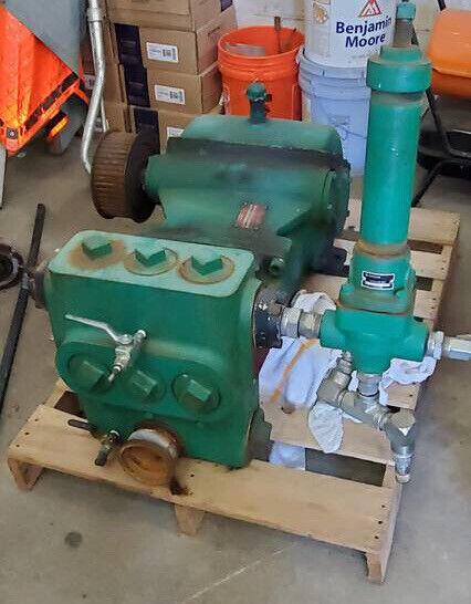Myers DP80-20 High Pressure Reciprocating Plunger Pump w/ Pressure Regulator