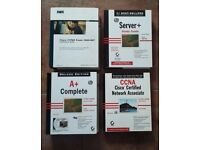 CompTIA A+, Server + & CCNA study books, Cisco CCNA 640-607 Certification Guide Books for sale