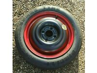 Ford fiesta / focus spare wheel with tyre brand new