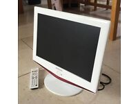 """Samsung - 19"""" LCD TV - widescreen - HD ready - white (LE19R71W) (VERy GOOD CONDITION)"""