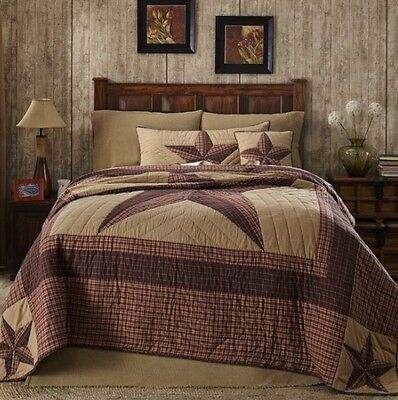 3pc Landon King Bed Quilt Set By VHC Brands/Bedding Package