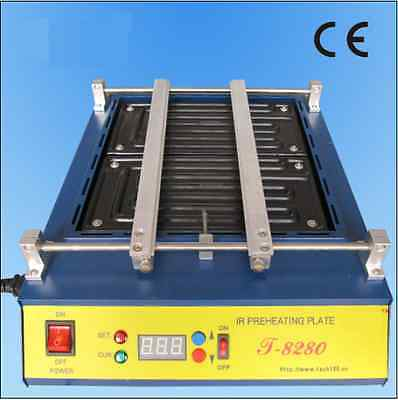 New Brand Ir Preheating Oven Preheating Station For Pcb Smd Bga T8280