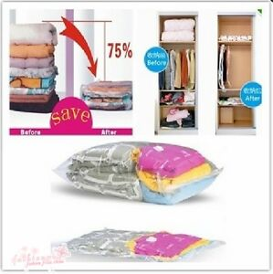 New-Space-Saver-Saving-Storage-Vacuum-Seal-Compressed-Organizer-Bag-3-Size