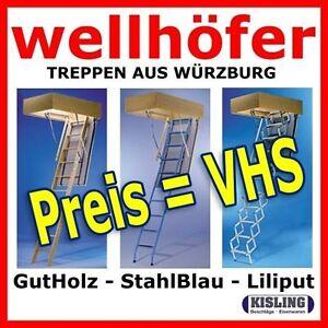 Etage Escalier Escalier Escamotable Wellhöfer norme escaliers de