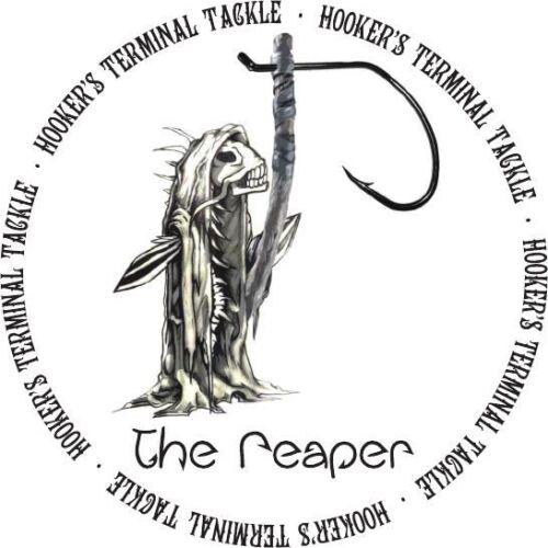 NEW HTT Reaper Offset OCTOPUS CIRCLE HOOKS BLACK NICKEL Catfish/Striper Fishing