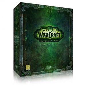 World of Warcraft Legion Collecter's edition