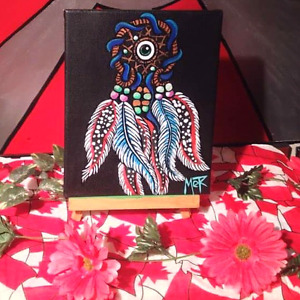 ONE OF A KIND BLACKLIGHT PAINTINGS