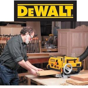 """USED DEWALT  WOOD THICKNESS PLANER - 119311840 - TWO SPEED - 13"""" - 15A - 20,000RPM - WOODWORKING CARPENTRY PLANERS JO..."""