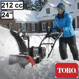 NEW TORO SNOWMASTER 724ZXR 36001 206300607 SNOW BLOWER GAS 212cc SINGLE STAGE SNOWBLOWER