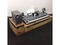 Yamaha Tyros 5 76 keyboard c/w speakers and expansion