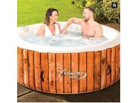 Cleverspa Sequoia Hot Tub, Jacuzzi 4 Person Brand New Sealed Box With Warranty
