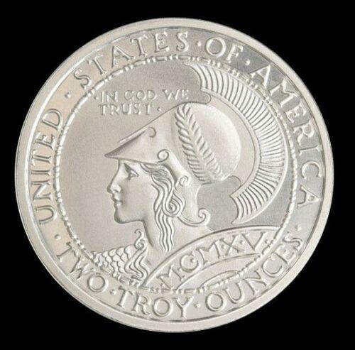2 oz .999 Fine Silver San Francisco Panama Pacific Exposition Minerva & Owl Coin