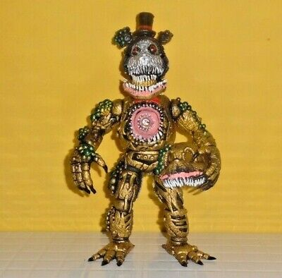 TOY MEXICAN FIGURE JUMBO springtrap FIVE NIGHTS AT FREDDY/'S ANIMATRONICS 8IN