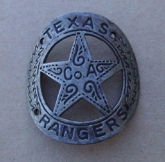 Texas Ranger CoA Pistol / Rifle Brass Gun Butt Tag