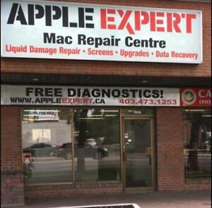 Apple Expert.6 Months warranty 1 Day Repair,MacBooks Water Damage/Logic Board/Screens/ Batteries/Upgrades/ Data Recvery