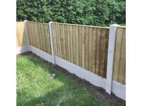 💈New Straight Top Feather Edge Fence Panels •