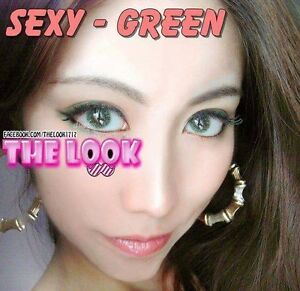 Coloured Contact Lenses and Faux 3D Lashes Sydney City Inner Sydney Preview