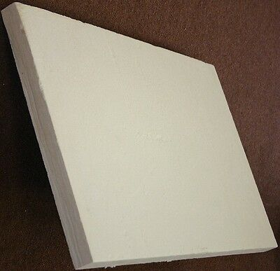 Ceramic Fiber Board 2300f 900 Mm X 600 Mm X 25 Mm 1 Free Shipping