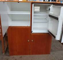 Timber CUPBOARD WITH Built-in BAR FRIDGE  (Untested)   Avail 28/5 Adelaide CBD Adelaide City Preview